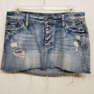 Like New! AEO Blue Jean Mini Skirt